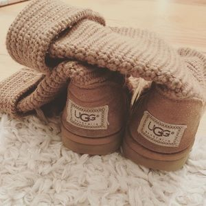 Knit Uggs Size 6